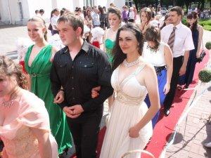 Фото: Кращі студенти педуніверситету танцювали на балу (фото)