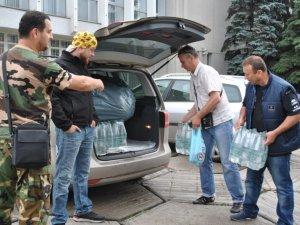 Фото: Полтавський Автомайдан з'їздив на Схід України аби допомогти військовим