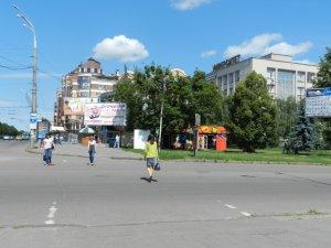Фото: Полтава  стала містом-лідером в області за відсутністю розмітки