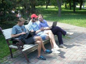 Фото: У Сонячному та Петровському парку є доступ до безкоштовного Інтернету