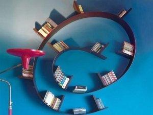 Фото: Ідеї для дому: як облаштувати економну бібліотеку
