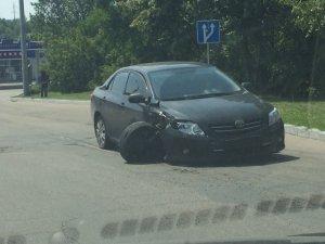 Фото: ДТП у Полтаві: зіткнулися два авто