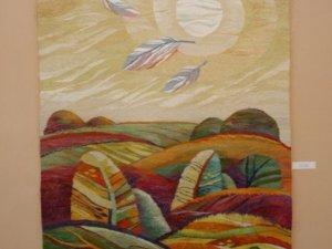 Фото: У Полтаві презентували Гетьманський  килим з 60 відтінками (фото)