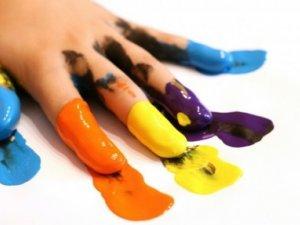 Фото: Як зробити пальчикові фарби своїми руками?