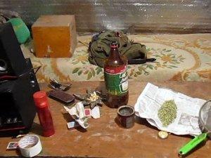 Фото: На Полтавщині затримали чоловіка за наркотики та зброю