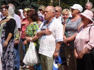 Фото. У Полтаві молилися за мир в Україні