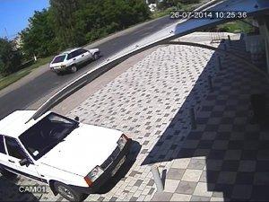 Фото: Розшукують автомобіль, з якого стріляли в мера Кременчука Бабаєва