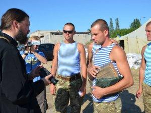 Фото: Волонтери доставили полтавським десантникам в зону АТО обіцяний тепловізор