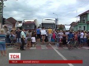 Фото: На Закарпатті блокують міжнародну трасу: вже більше 7 годин у пастці полтавська журналістка та більше 80 авто