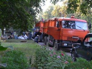 Фото: Жителі Лохвицького району передали в зону АТО 25 тонн допомоги