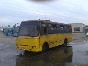 Фото: Основному перевізнику Сорочинського ярмарку спалили автобуси