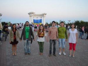Фото: Полтавці приєдналися до литовського флешмобу