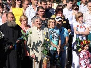Фото: У Полтаві на віче до дня Незалежності говорили про Мазепу (фото)