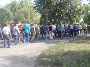 Фото: На Полтавщині прощалися з героєм, який загинув в зоні АТО – оголосили Дні жалоби