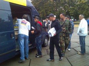 Фото: Вірменська громада Полтавщини вдруге передала гуманітарну допомогу бійцям АТО