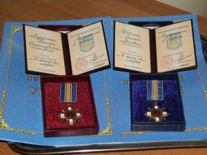 Фото: На Полтавщині бійців АТО посмертно нагородили орденами