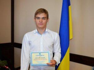 Фото: Полтавця Богодайка  привітали зі званням кращого паралімпійця світу грошовою винагородою