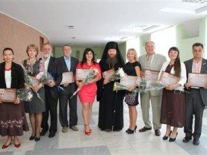Фото: Видатні полтавці отримали премію імені Котляревського