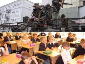 Фото: Полтавські школярі на уроках праці  допомагатимуть бійцям АТО