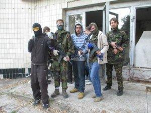 Фото: Під Полтавою молодь три дні вчилася воювати
