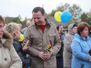 Фото: У Полтаві на кандидата в нардепи Андрія Матковського вчинили замах
