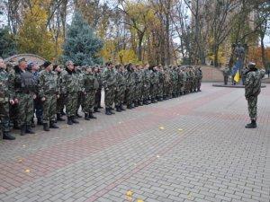 Фото: Загін полтавських міліціонерів повернувся з зони АТО