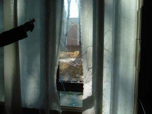 Фото: У штабі кандидата в народні депутати Ірини Балибіної розбили вікна