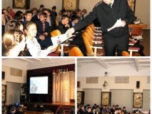 Фото: Рятувальники показали полтавським школярам фільм про безпеку