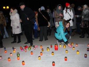 Фото: У Полтаві вшанували пам'ять жертв Голодомору. Фото