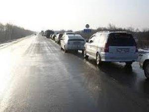 Фото: Через ожеледицю на полтавських автостанціях призупинили курсування автобусів
