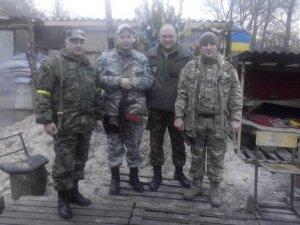 Фото: Полтавські міліціонери з'їздили із привітанням до колег в АТО
