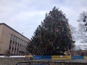 Фото: Ялинки Полтавщини: які новорічні красуні встановили в районах