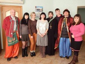 Фото: Громада Свято-Миколаївської церкви привітала редакцію «Кола» з церковним Новим роком
