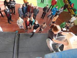 Фото: У Полтаві відбувся перший відкритий чемпіонат зі скелелазіння та боулдерінгу