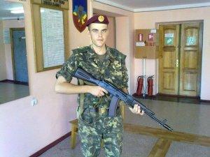 Фото: На Полтавщині попрощались з бійцем  Максимом Рябком