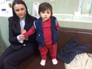 Фото: На Полтавщині на вокзалі знайшли 2-річну дівчинку – шукають її батьків