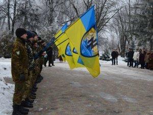 Фото: Полтава попрощалась з загиблим бійцем Дмитром Коряком