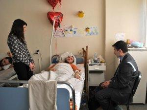 Фото: У Дніпропетровську після поранення лікуються двоє полтавських міліціонерів