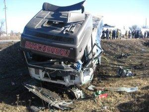 Фото: Міліція встановлює особи загиблих в ДТП на Полтавщині