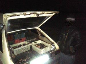 Фото: На Полтавщині даівці затримали двох водіїв із рибою без документів