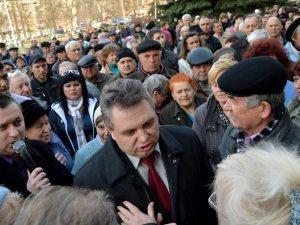 Мітинг у Полтаві: підвищення тарифів і відставка Марченка (ФОТО)