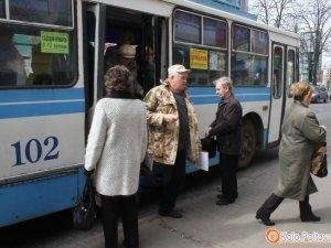 Фото: Як працюватиме в Полтаві транспорт у Великодні та поминальні дні