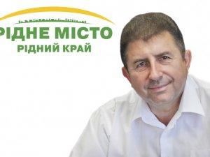 Фото: Олександр Удовіченко вітає полтавців з Великоднем
