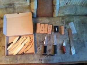 Фото: У Кременчуці чоловік незаконно виготовляв ножі