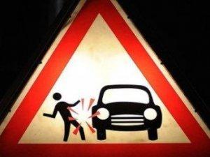 Фото: Неподалік Козельщини «запорожець» збив пішохода на узбіччі