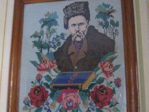 Фото: «Вишитий Шевченко»: портрет від Героїні Небесної сотні