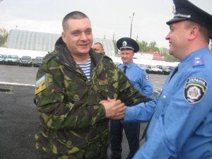 Фото: Працівники полтавської ДАІ повернулися додому