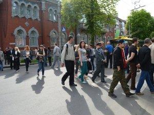 Полтавці перекрили дорогу, протестуючи проти будівництва (відео, фото)