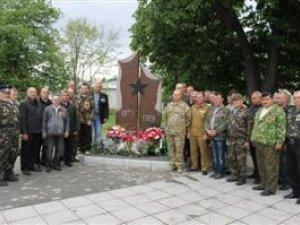 Фото: У Градизьку відкрили пам'ятник воїнам-афганцям