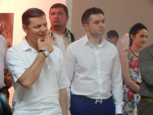 """Фото: У Полтаву на фотовиставку """"Воїн крізь віки"""" приїхав Ляшко та інші нардепи (ФОТО)"""
